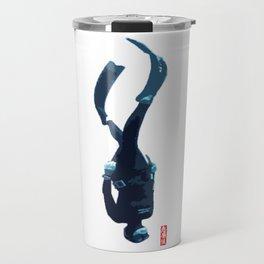 Scuba Diver - Abyssimal Descent Travel Mug