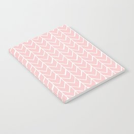 Herringbone Pink Notebook
