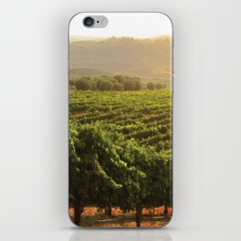 Wine Country Morning iPhone Skin