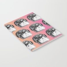 Minifigure Pattern - Hot Notebook