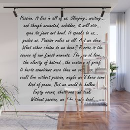 Buffy Passion Quote Wall Mural