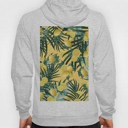 Summer Lemon Twist Jungle #3 #tropical #decor #art #society6 Hoody
