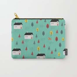 Countryside Pattern Carry-All Pouch