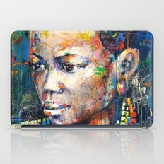 She - portrait of a beautiful woman iPad Case