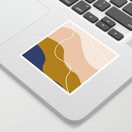 modern chic pattern Sticker