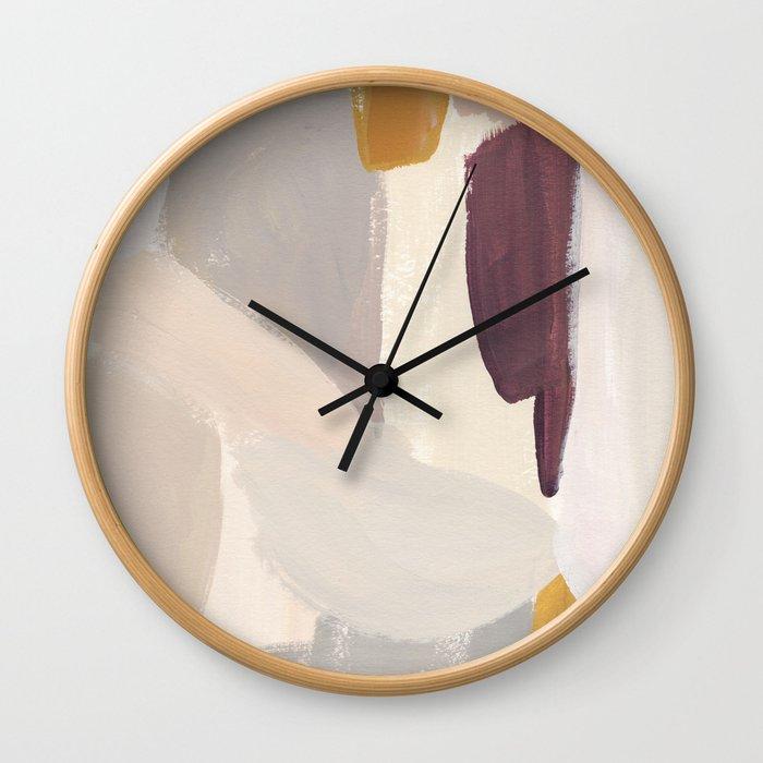 Plumb Crazy Wall Clock