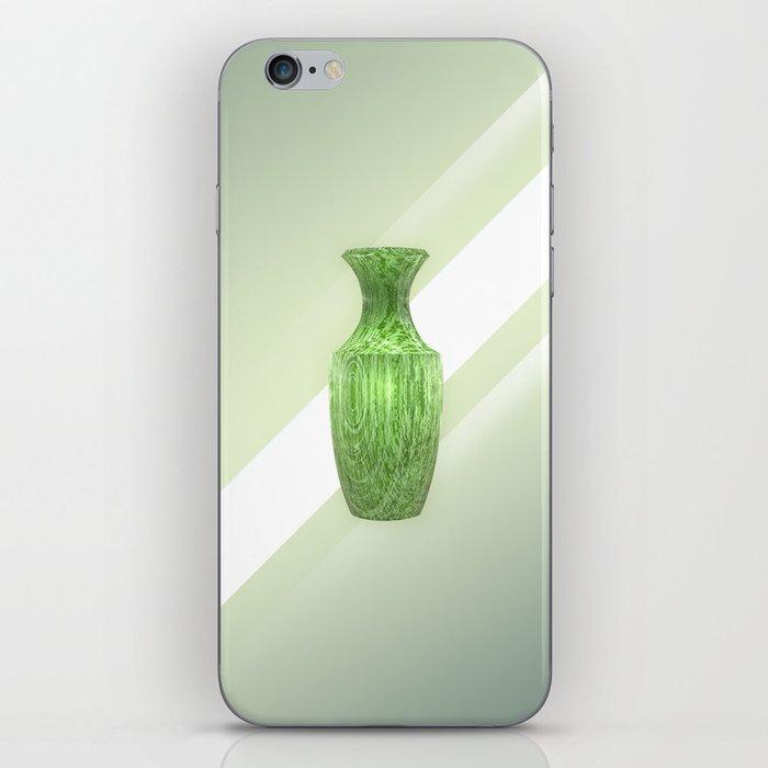 Decorative Green Vase iPhone Skin