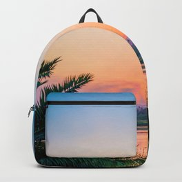 Between the Palms (Color) Backpack