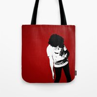 madonna Tote Bags featuring Madonna by elvisbr
