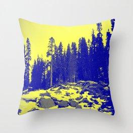 Don't Eat The Yellow Snow! Throw Pillow