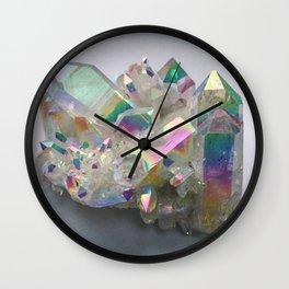 Opal Aura Quartz #10 Wall Clock