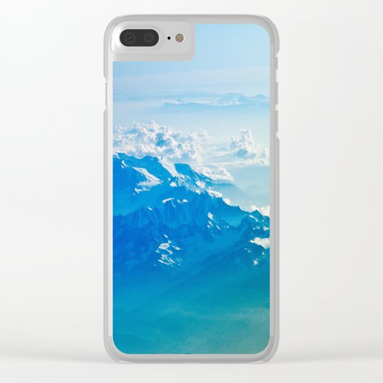 Clouds #society6 #buyart Clear iPhone Case