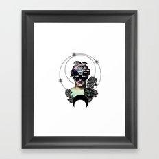 Persephone Opens Her Eyes (light version) Framed Art Print