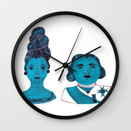 Marie Antoinette & King Louis XVI  Wall Clock