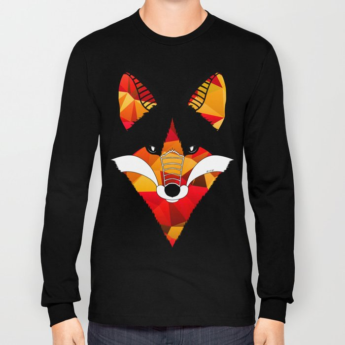 Fire Fox Long Sleeve T-shirt