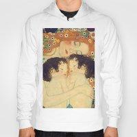 klimt Hoodies featuring Mi versión de Klimt by MW. [by Mathius Wilder]