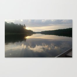 Lakeshore Canvas Print