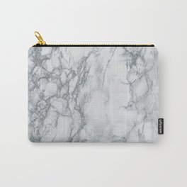 Gray Blue Granite Carry-All Pouch
