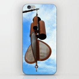 Wind Chimes for Giants iPhone Skin