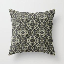 Medieval Stone Texture Throw Pillow