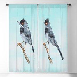Rüppell's warbler Blackout Curtain