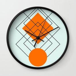 digital installation Wall Clock