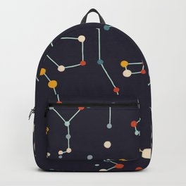 Starry Sky (purple mid century palette)  Backpack