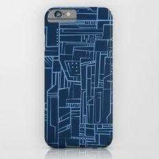 Electropattern (Blue) iPhone 6s Slim Case