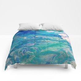 Effervescent Waves Comforters