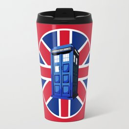 Tardis British Travel Mug