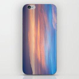 Blue Dreams Sunset - Ocean Sunset, Landscape, Scenery, Beautiful Orange Yellow iPhone Skin