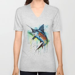 Marlin Unisex V-Neck
