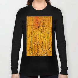 Neural Activity (An Ode to Cajal) Long Sleeve T-shirt