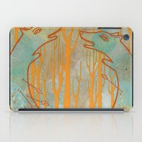 foxes iPad Cases featuring Foxes by Ariel Wilson
