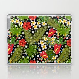 Tropical Dots Laptop & iPad Skin