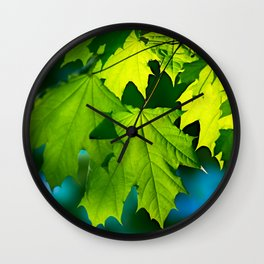 Tales From The Maple Wood Wall Clock