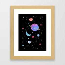 The Great Universe Framed Art Print