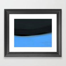 Time & Tide #3 Framed Art Print