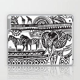 African Tribal Pattern No. 17 Laptop & iPad Skin