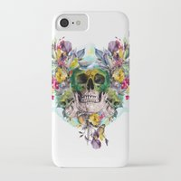 skulls iPhone & iPod Cases featuring SKULLS by RIZA PEKER