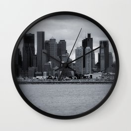 City and Airfield Wall Clock