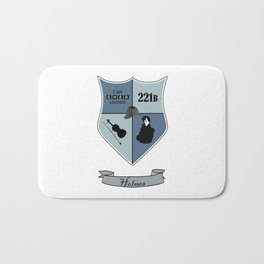 Sherlock Coat of Arms Bath Mat