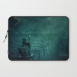 At the edge of Nothing Laptop Sleeve