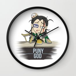 Loki, the Puny God Wall Clock