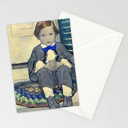 12,000pixel-500dpi - Jessie Willcox Smith - When Daddy Was a Little Boy - Digital Remastered Edition Stationery Cards
