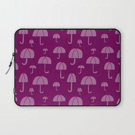 April Showers // Purple Laptop Sleeve