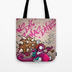 MUSIC SMASHER Tote Bag