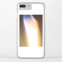 Let Your Flame Show Clear iPhone Case