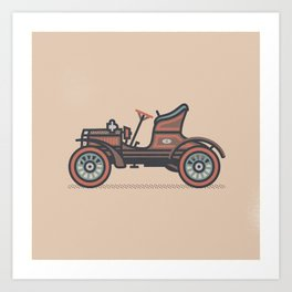 Oldsmobile French Front Touring Runabout Art Print