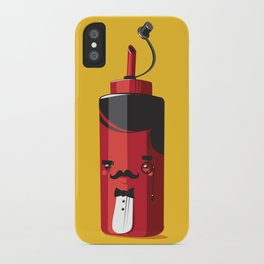 Fancy Ketchup iPhone Case